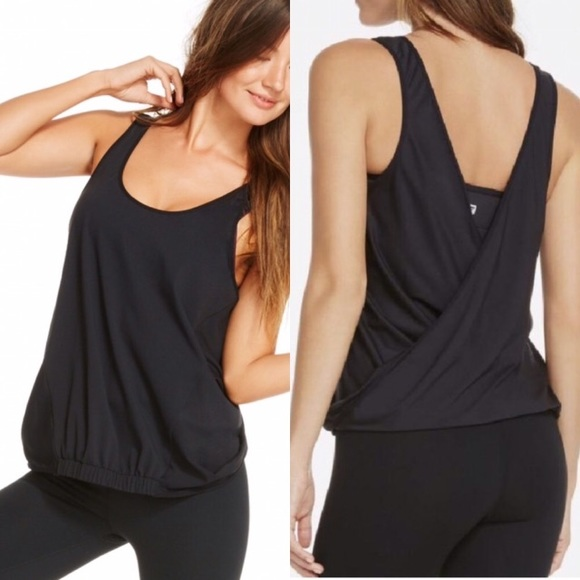 9a6ca6cb58  S M  Fabletics 2 in 1 tank and sports bra set. NWT